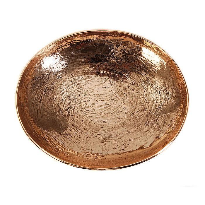 Schale, oval