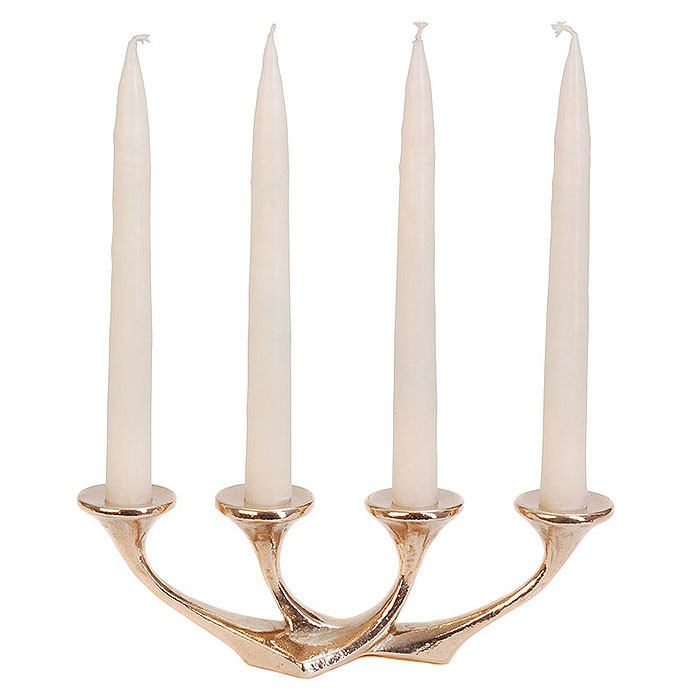 Kerzenständer Bronze/ Tischleuchter